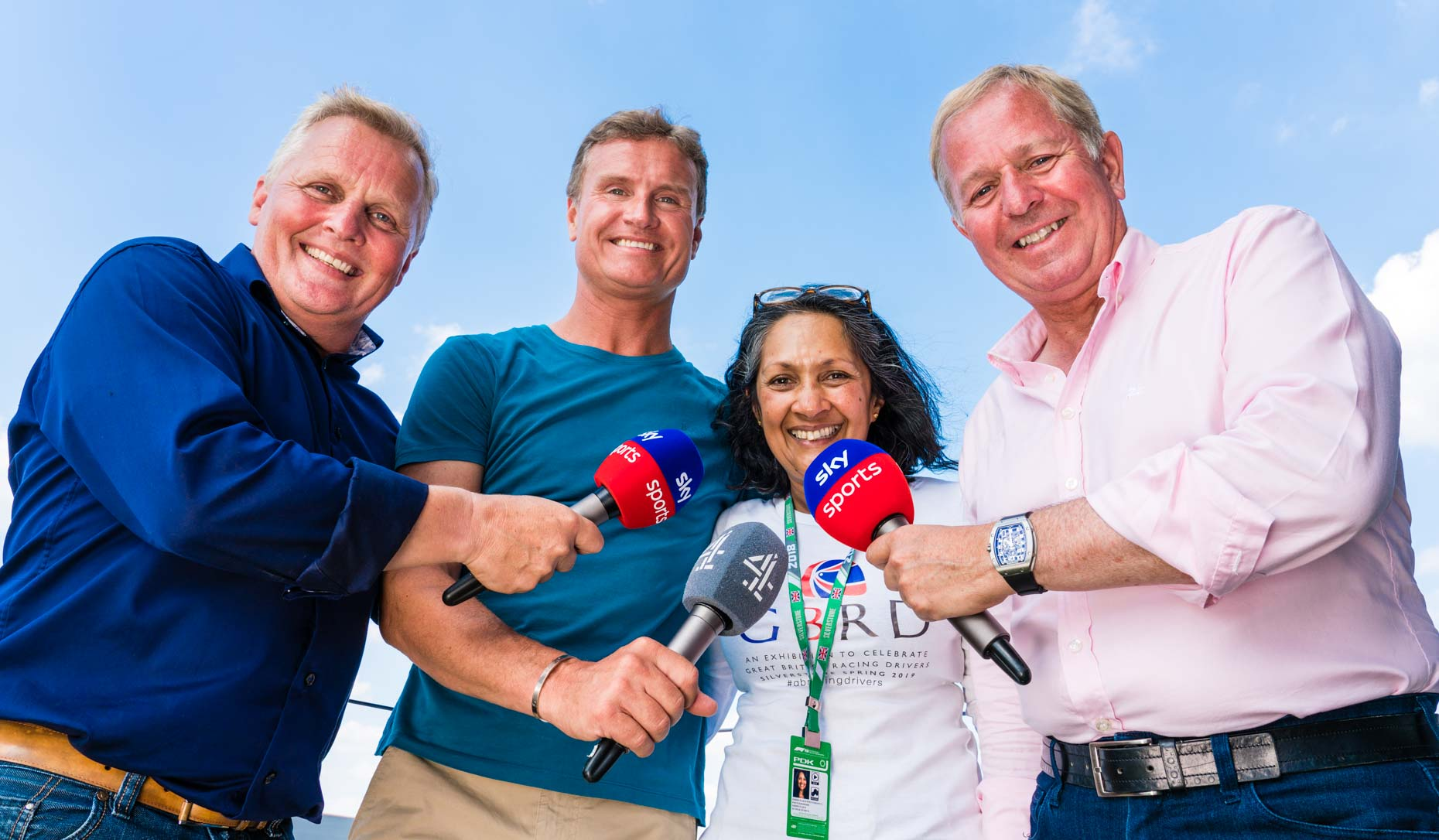 Johnny Herbert, David Coulthard, Martin Brundle